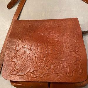 Patricia Nash leather crossbody